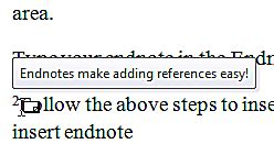 Using Microsoft Word 2010s References Feature for Students
